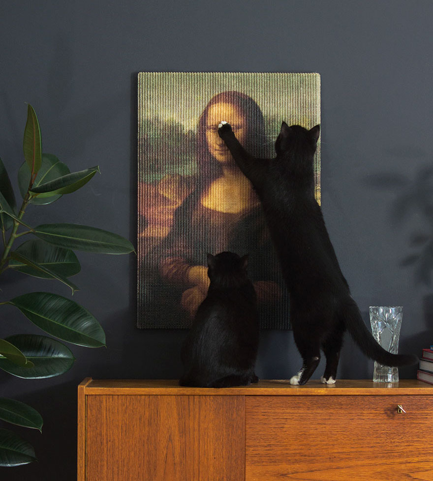 Now Your Cat Can Finally Destroy Priceless Pieces Of Artwork With