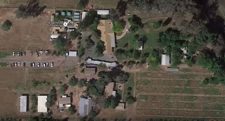google map view of cat house on the kings