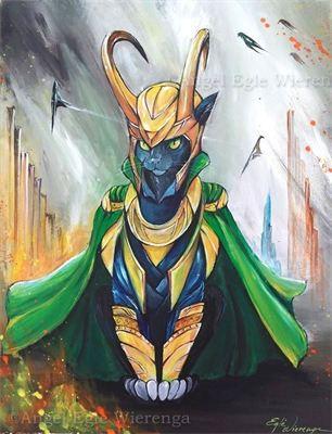 Loki B. Cat