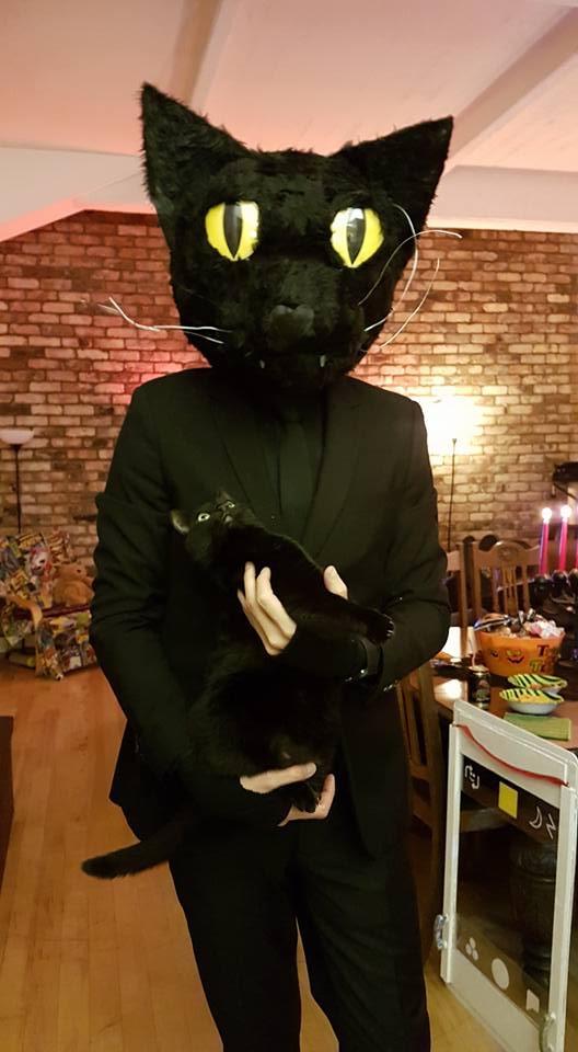 cat head costume 10