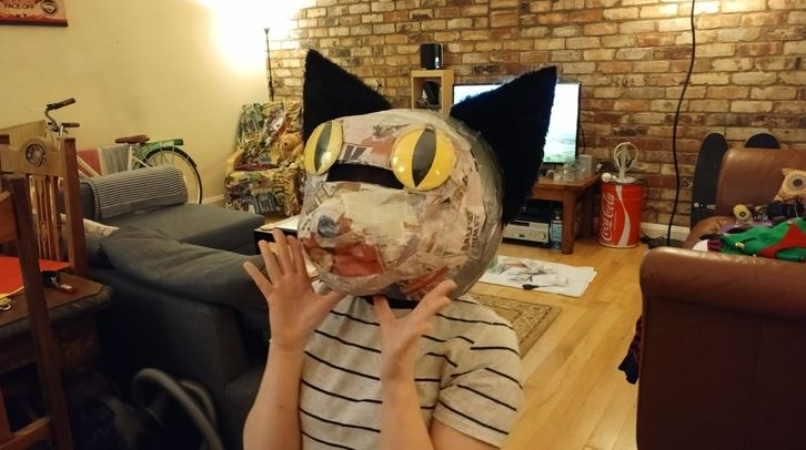 cat head costume 6