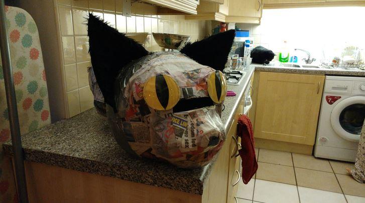 cat head costume 7