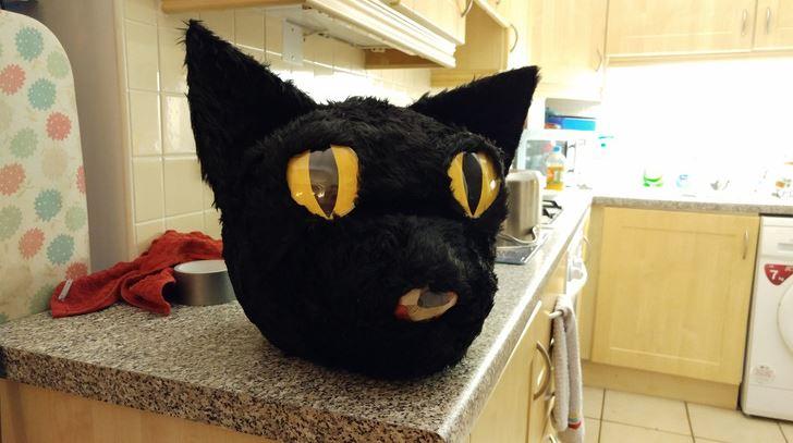 cat head costume 8