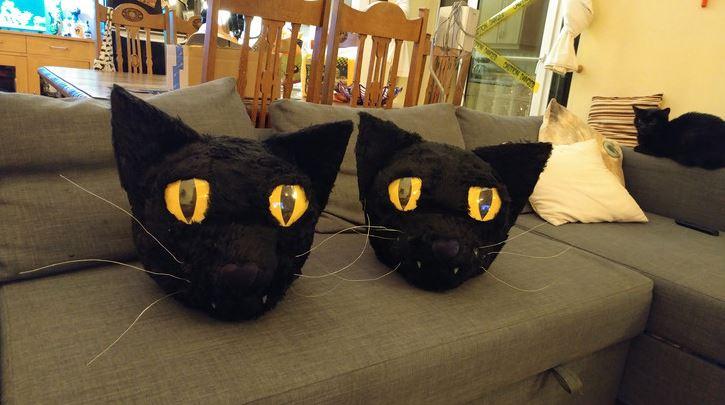 cat head costume 9