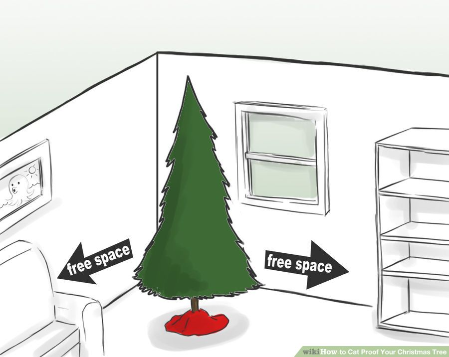 10 easy steps on how to cat proof your Christmas tree