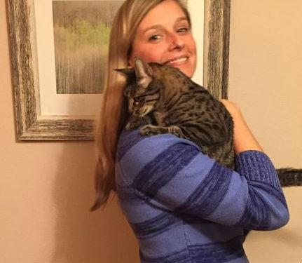 christine hugging felix