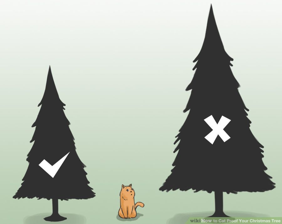 10 easy steps on how to cat proof your christmas tree Christmas tree cat tower