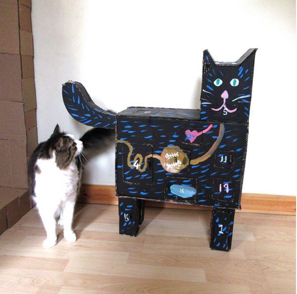 cardboard cat tower 5