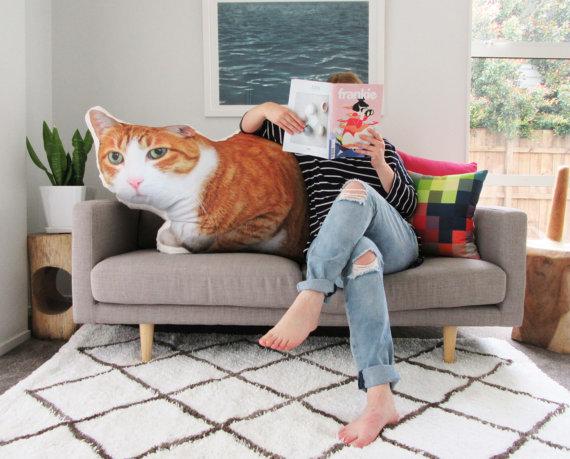 cat pillow 1