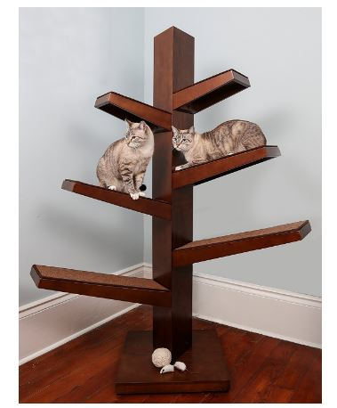 Feline Catalpa Cat Tree