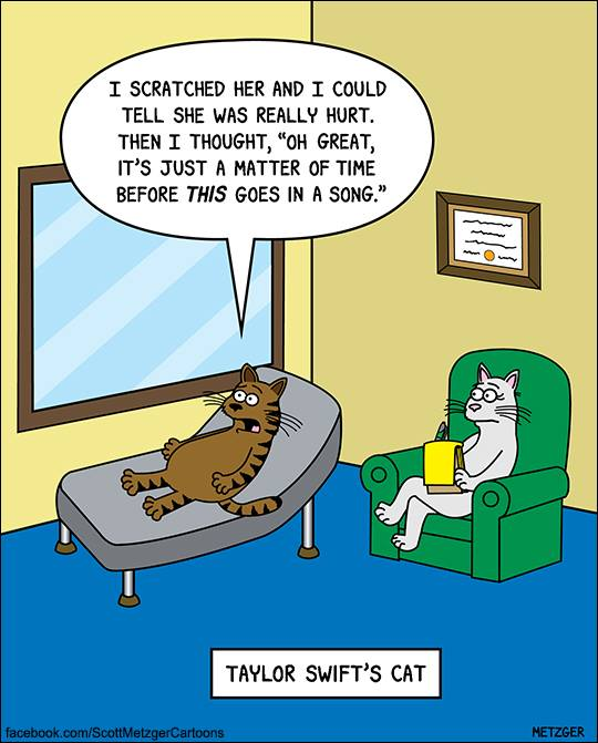 cat cartoons funny cats cartoon jokes humor comics hilarious funniest ever crazy scott metzger memes through comic humour monday kitties