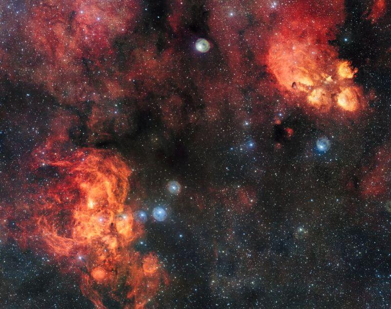 cats paw nebula 2