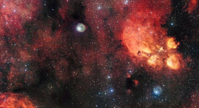 cats paw nebula 1