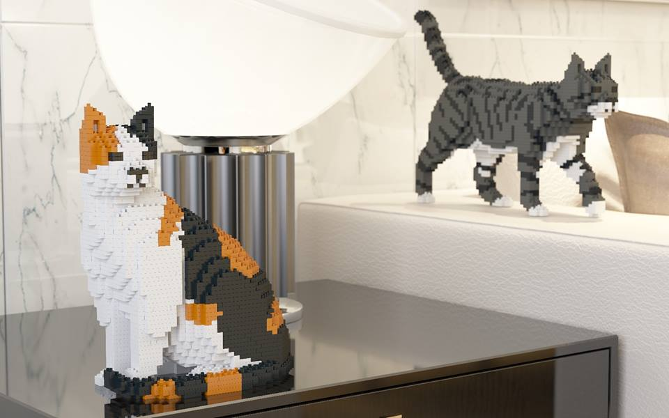Cat Quot Legos Quot Are The Cool New Toy For Cat Lovers Gallery