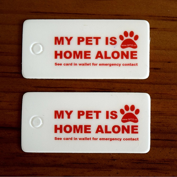 emergency pet care tags