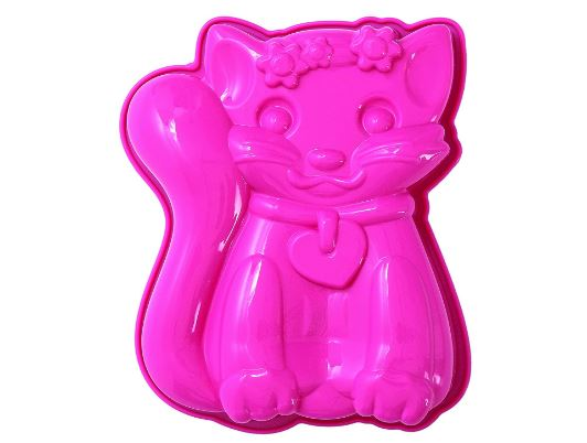 cat pink baking cake pan