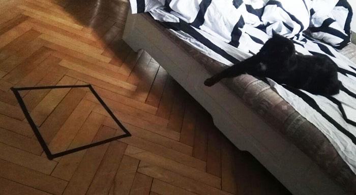 black cat square