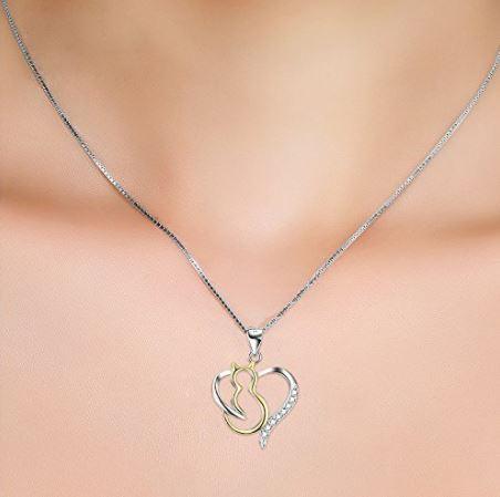 cat heart necklace 2