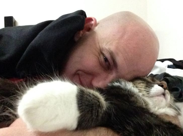 man and cat hobbes deny ex girlfriend for good