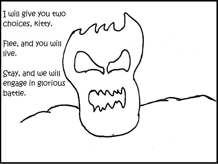 bedsheet monster iizcat comic pt 3