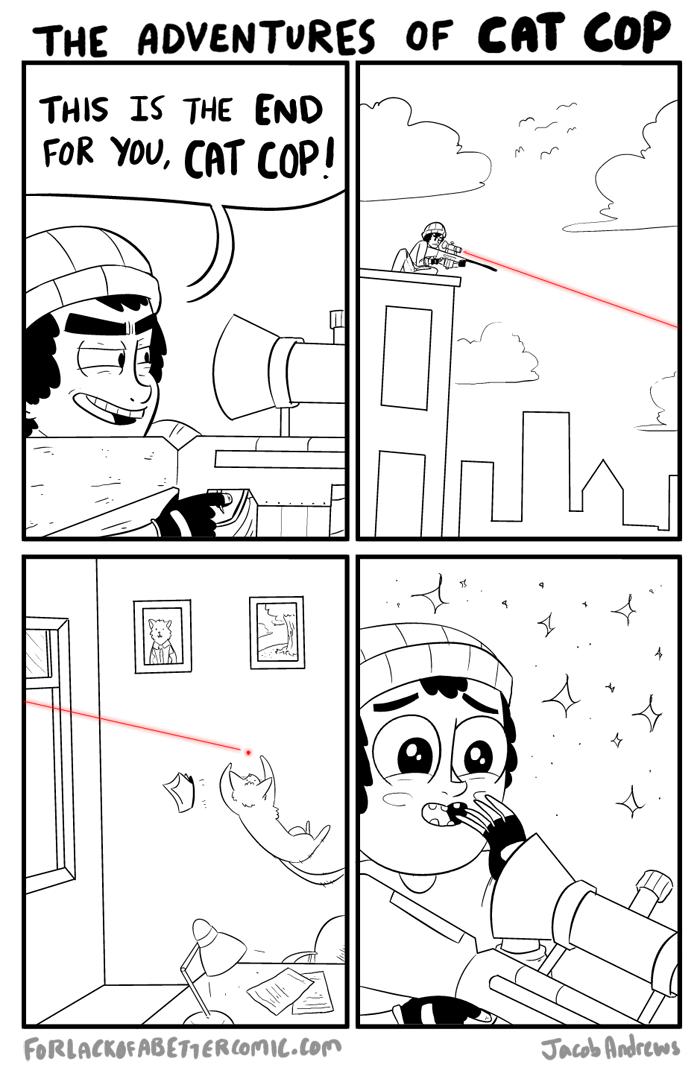 the adventures of cat cop comic 3
