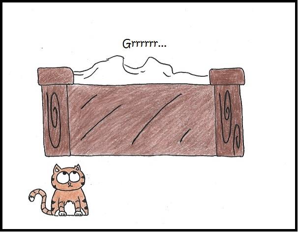 bedsheet monster iizcat comic pt1