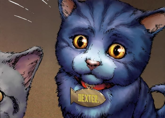 dexstarr the DC cat comic Red Lantern 1