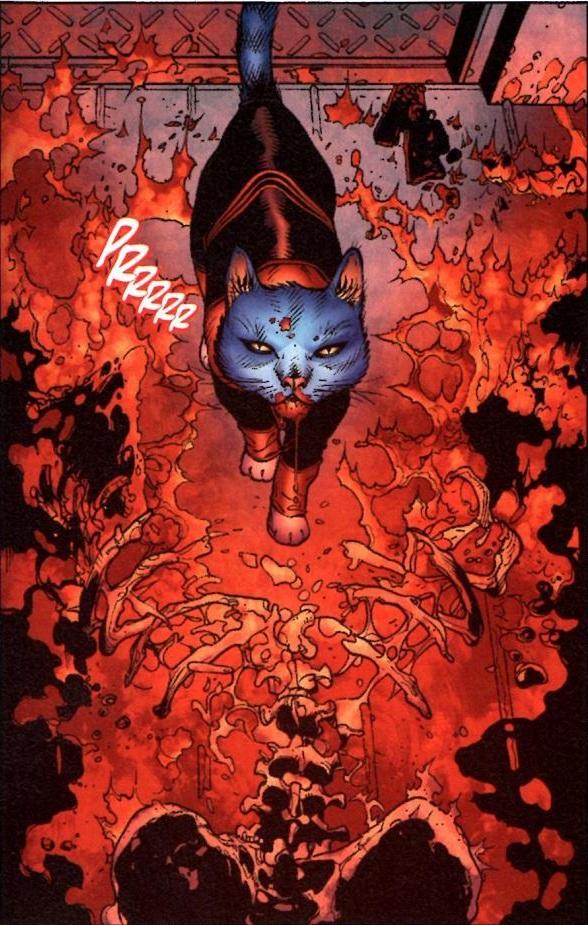 DexStarr the cat comic Red Lantern 4