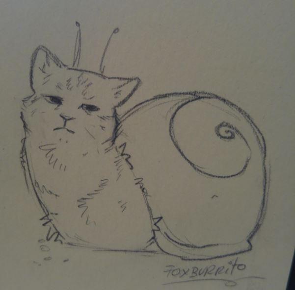 snail cat 3