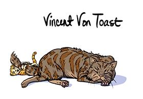the unadoptables cat comics vincent von toast