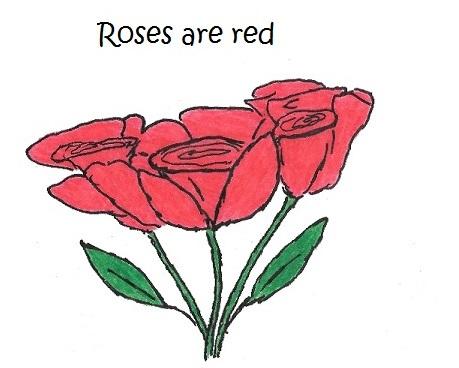 roses are red cat poem iizcat 1