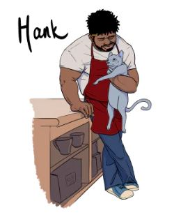 the unadoptables cat comics hank