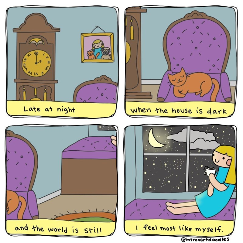 introverted cat lady comics 11
