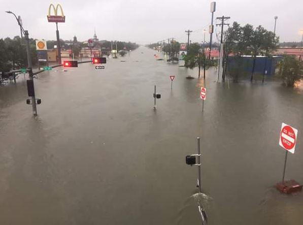 hurricane harvey flooding