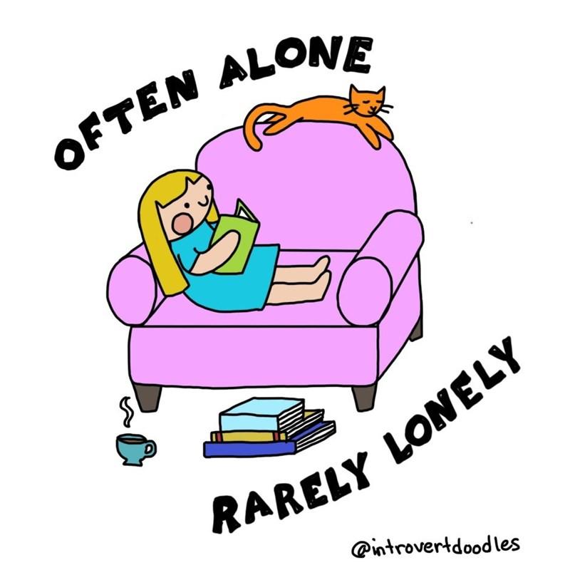 introvert cat lady comics 1
