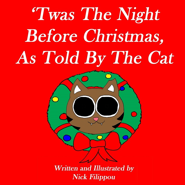 twas the night before christmas as told by the cat cover