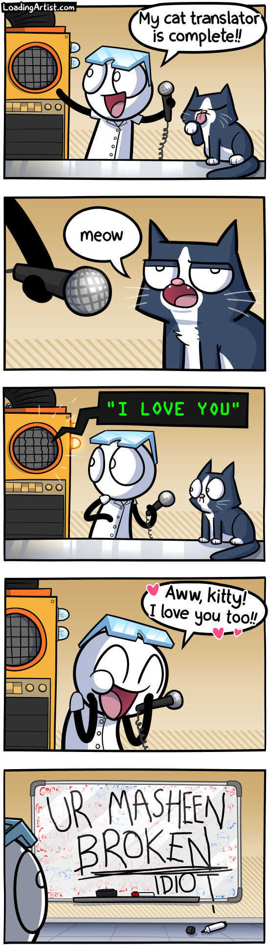 cat science comic