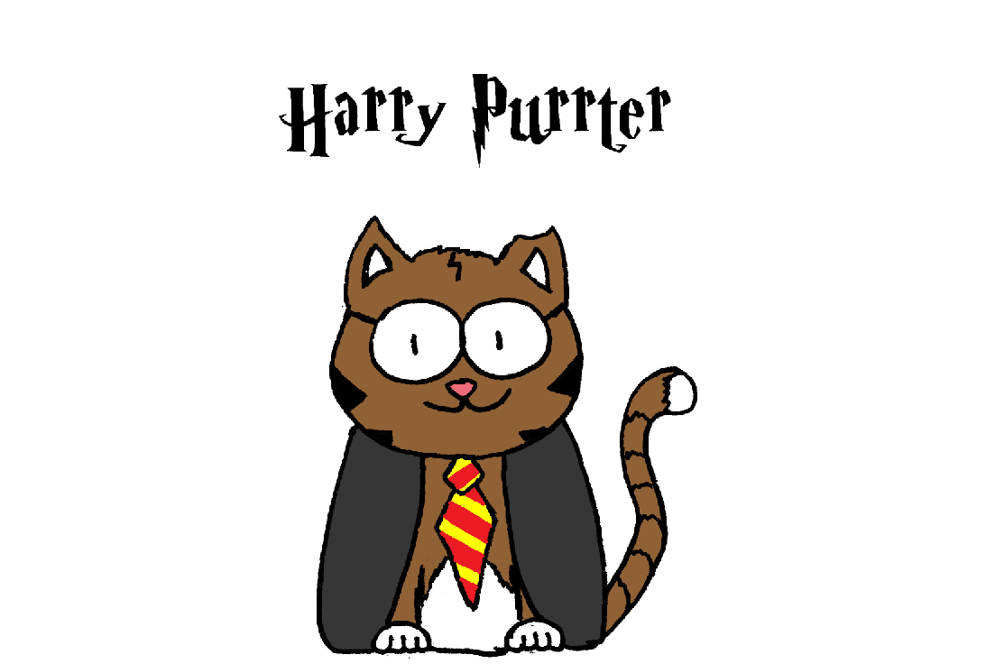 harry potter cat comic 1