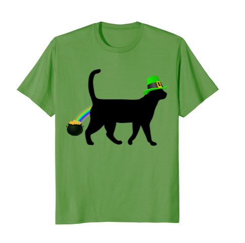 cat st patricks day 1