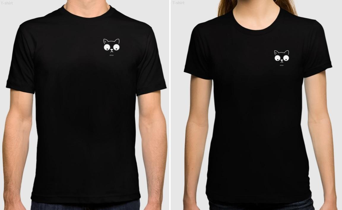 iizcat t shirt logo