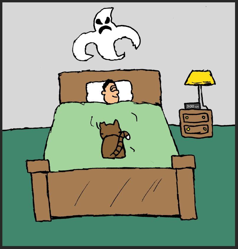iizcat ghost comic 2