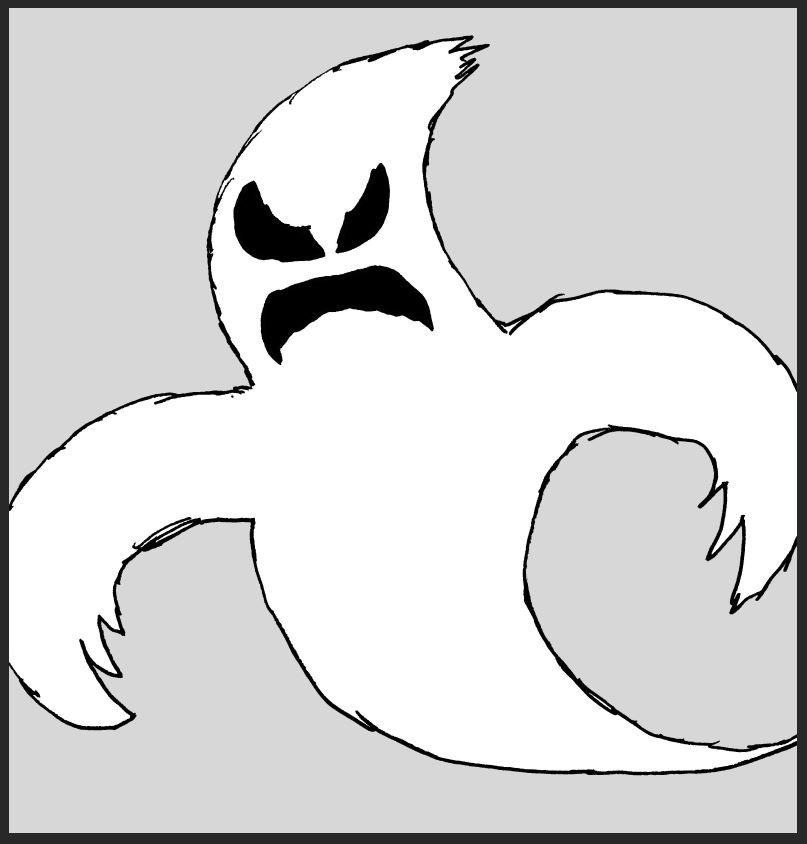 iizcat ghost comic 3