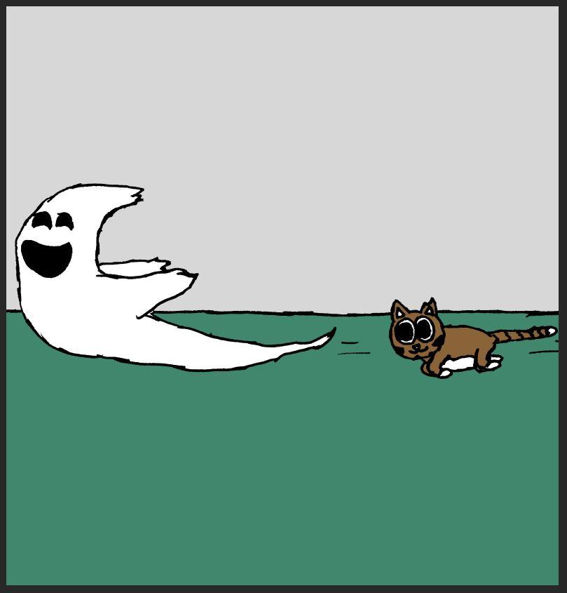iizcat ghost comic 6