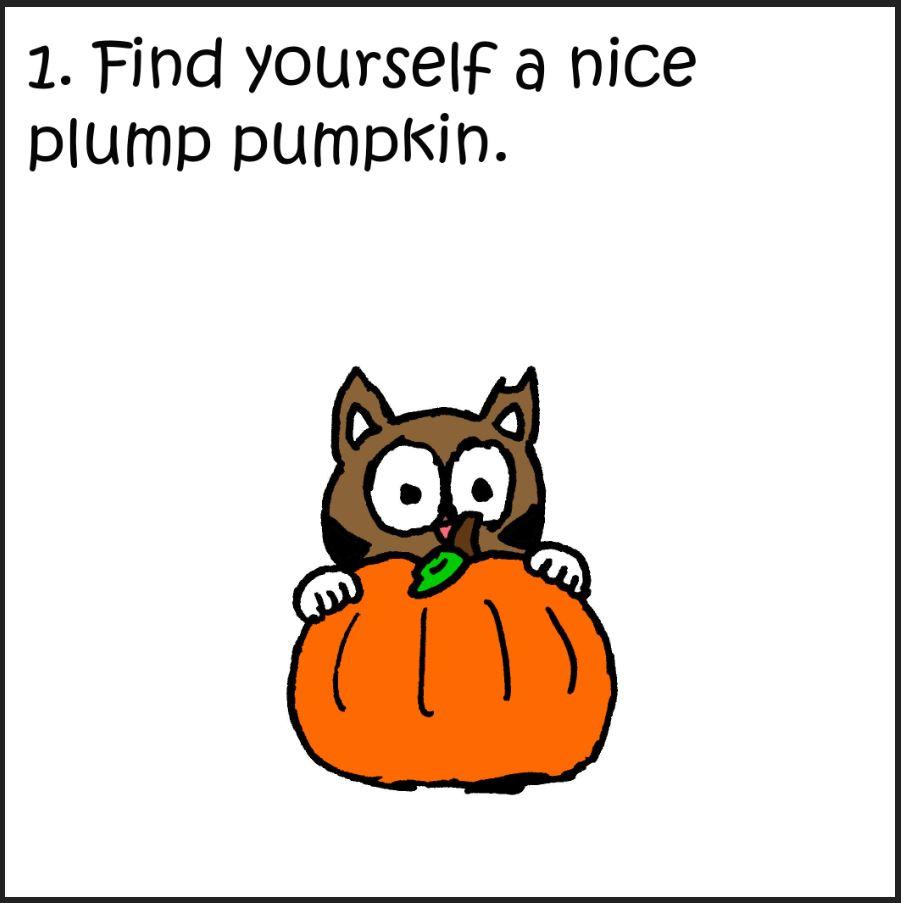 iizcat cats guide to pumpkins 1