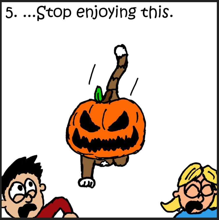 iizcat cats guide to pumpkins 5