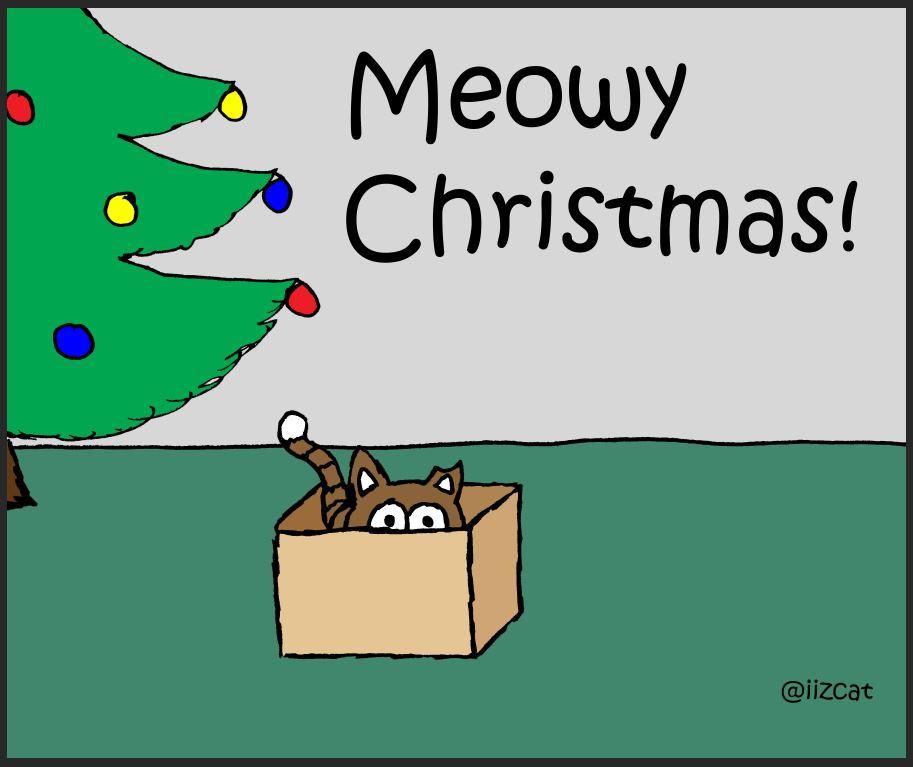 iizcat christmas box comic 5