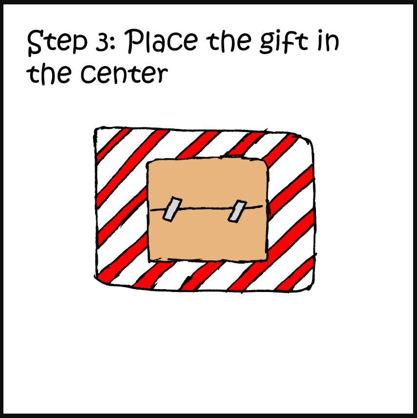 iizcat how to wrap a present cat comic 3