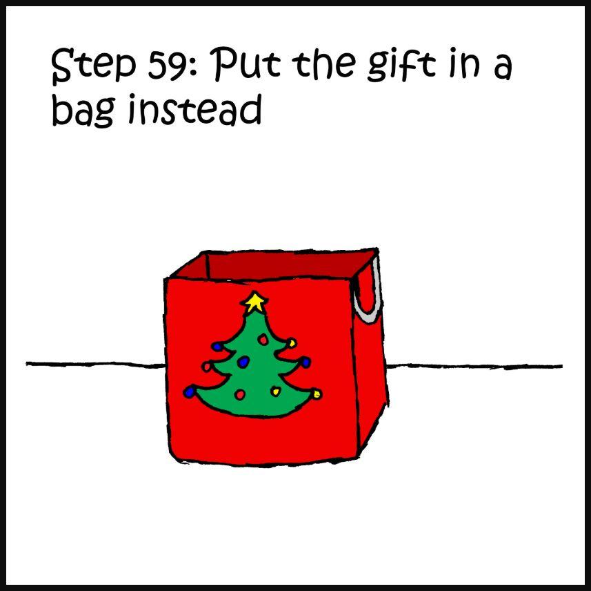 iizcat how to wrap a present cat comic 7