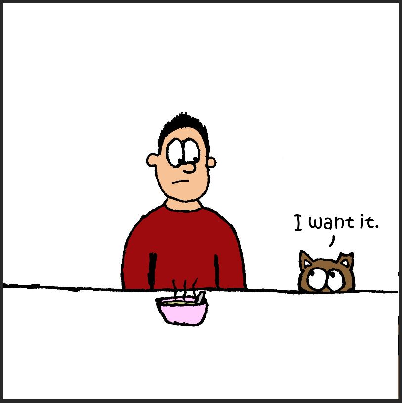 iizcat i want it comic 2