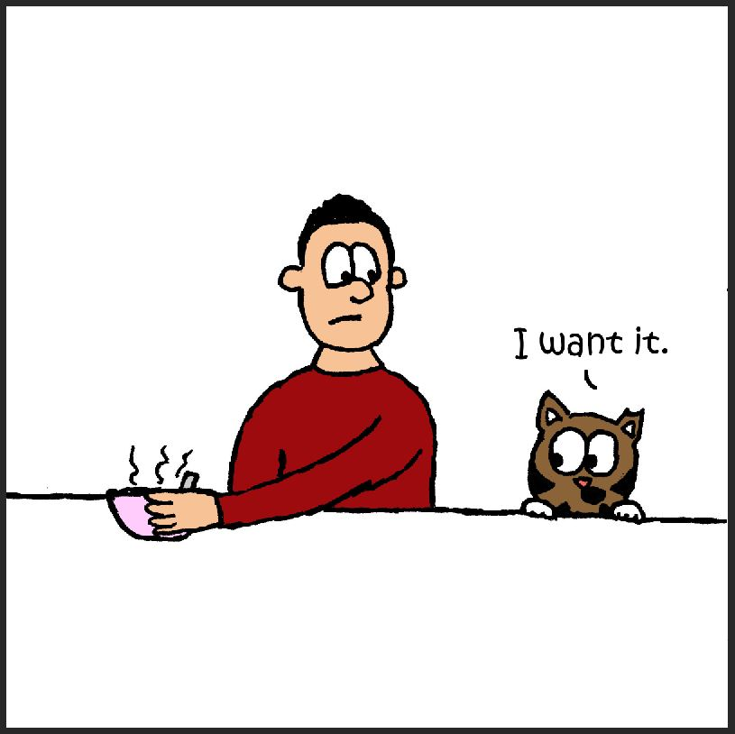 iizcat i want it comic 3